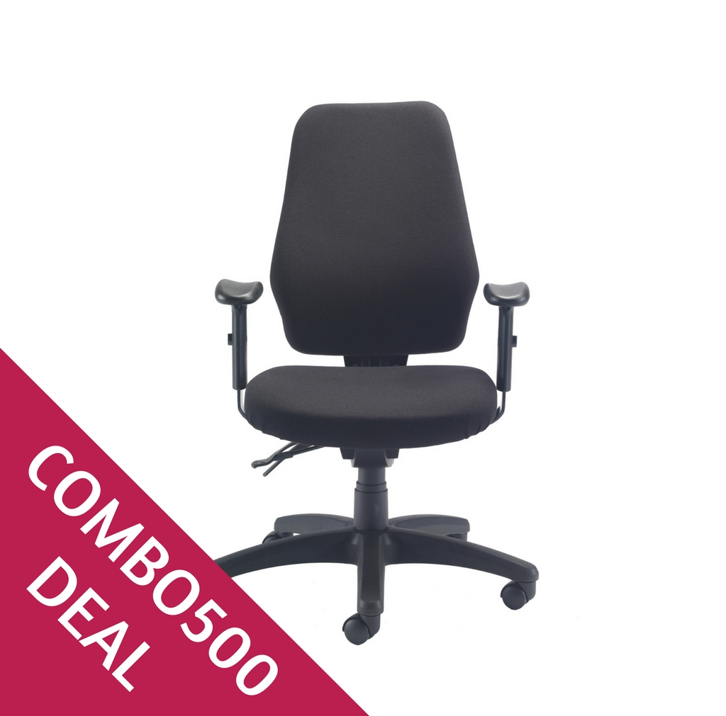 Deluxe Task Chair Combo 500 Icon