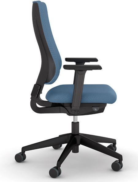 Drumback Task Chair Side View