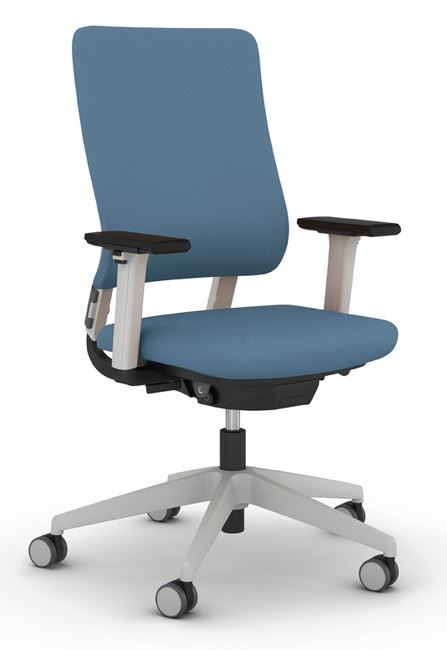 Drumback Task Chair Tele Grey Frame