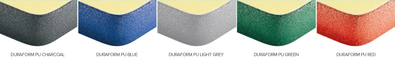 Duraform PU Edge Colour Options