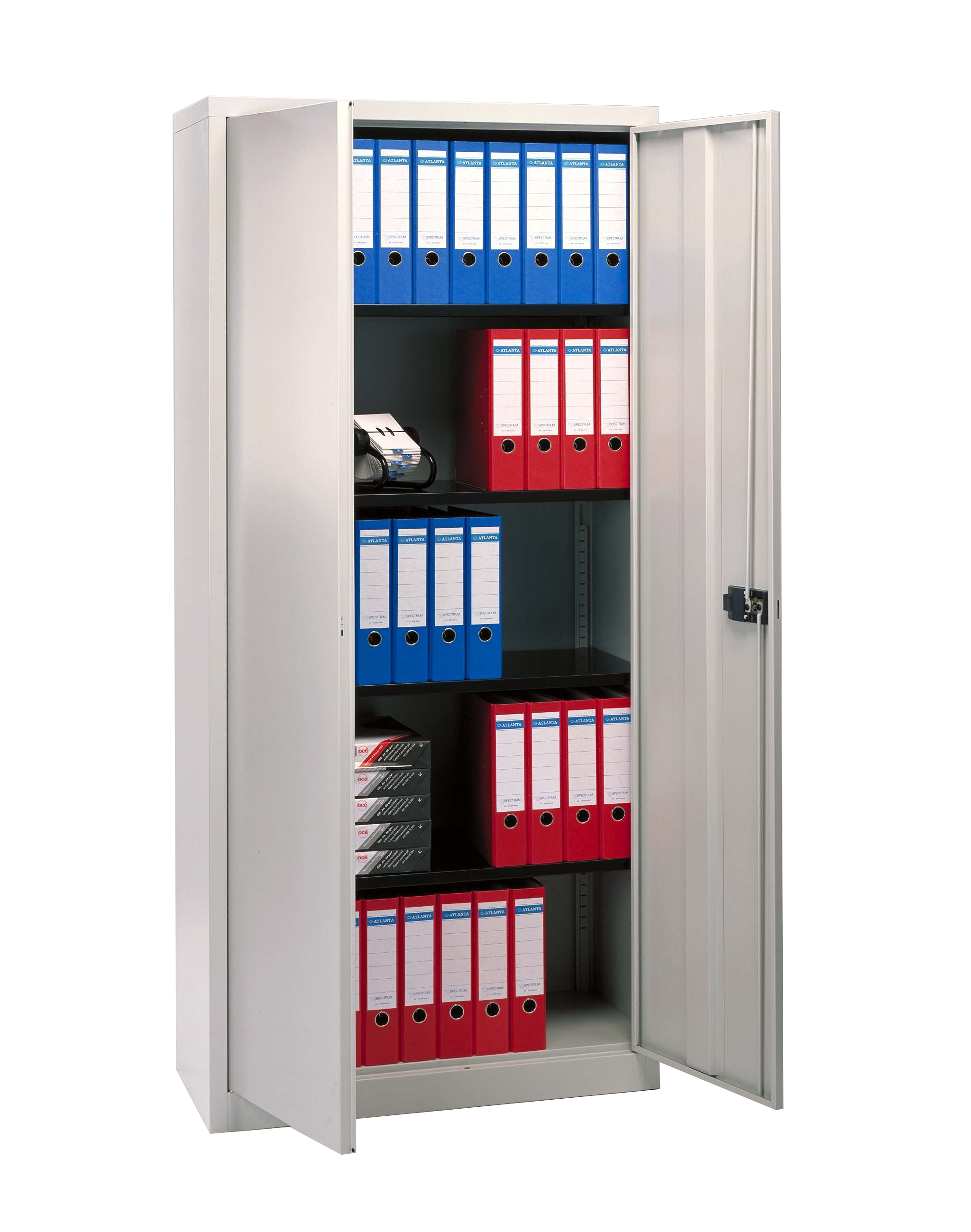 Bisley Essentials Stationery Cupboard Open