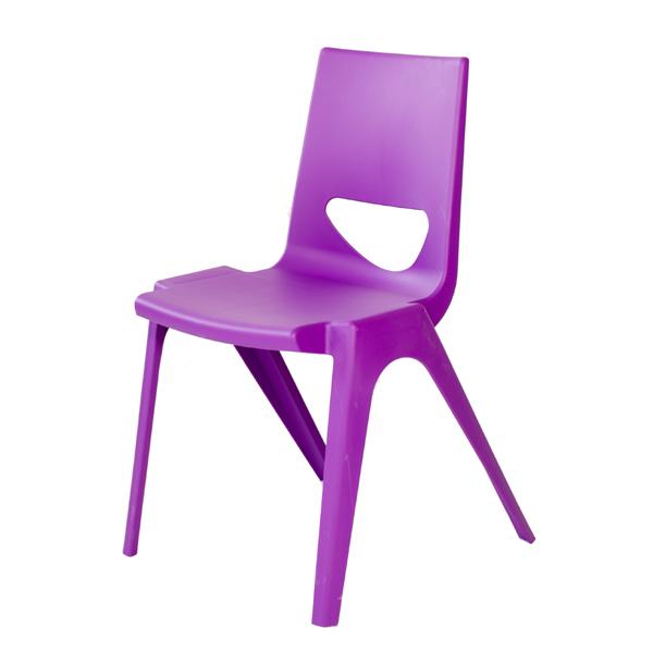 EN One Polypropylene Chair Purple