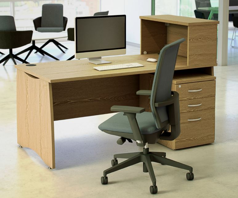 EX10-Rectangular-Desk-Optional-Overdesk-Storage