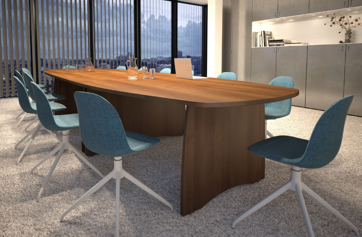 EX10 panel end boardroom table