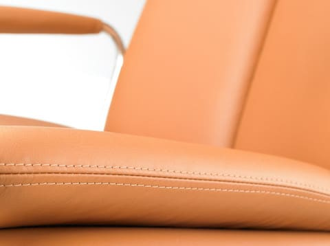 Ele-Tan-Leather-Meeting-Chair-Stitching-Close-Up