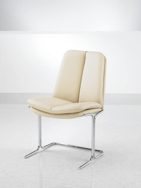 Ele-Ivory-Leather-Mid-Back-Conference-Chair-Without-Arms