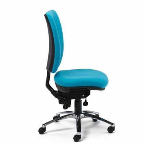 Ergonomic-Task-24-Office-Chair-Without-Arms-Blue