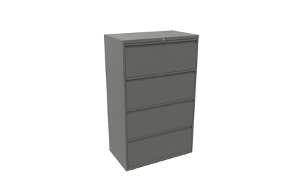 4 Drawer Bisley Essentials Drawer Unit