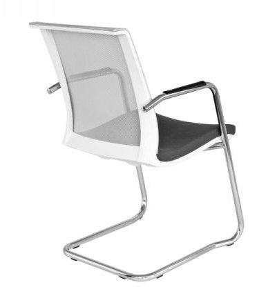 Eva Conference Chair White Cantilever