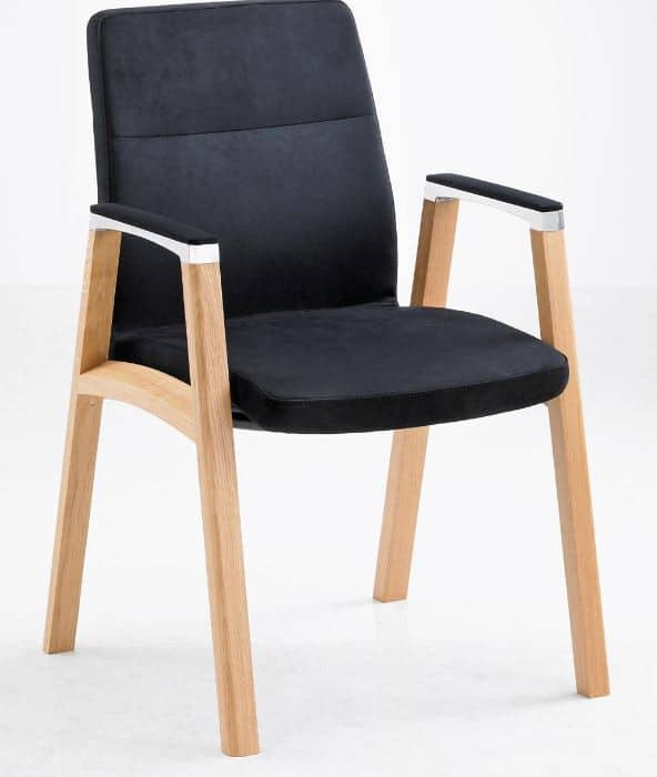 Fulcrum-F1-Timberframe-Upholstered-Conference-Chair-with-Fabric-Armcaps