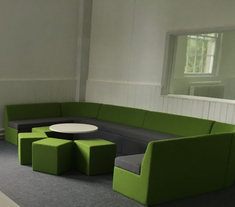 Far Modular Seating Green and Grey