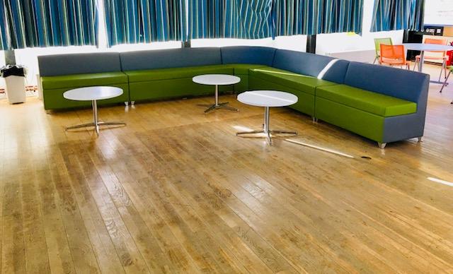 Far modular sofa unit green grey