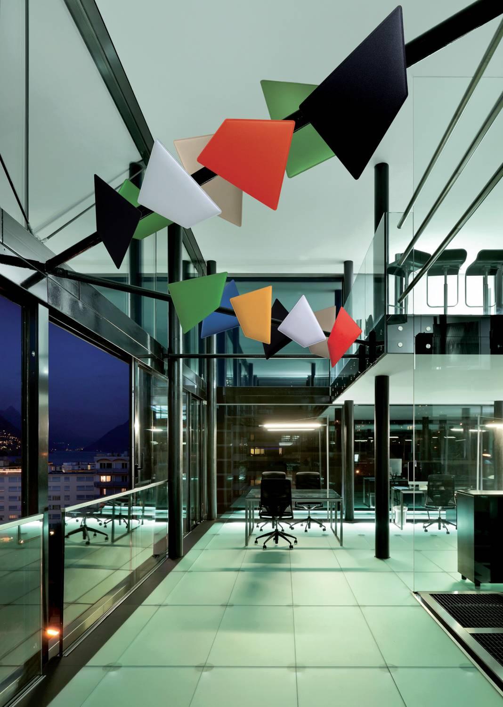 Flap Acoustic Panels Wave Office Ltd