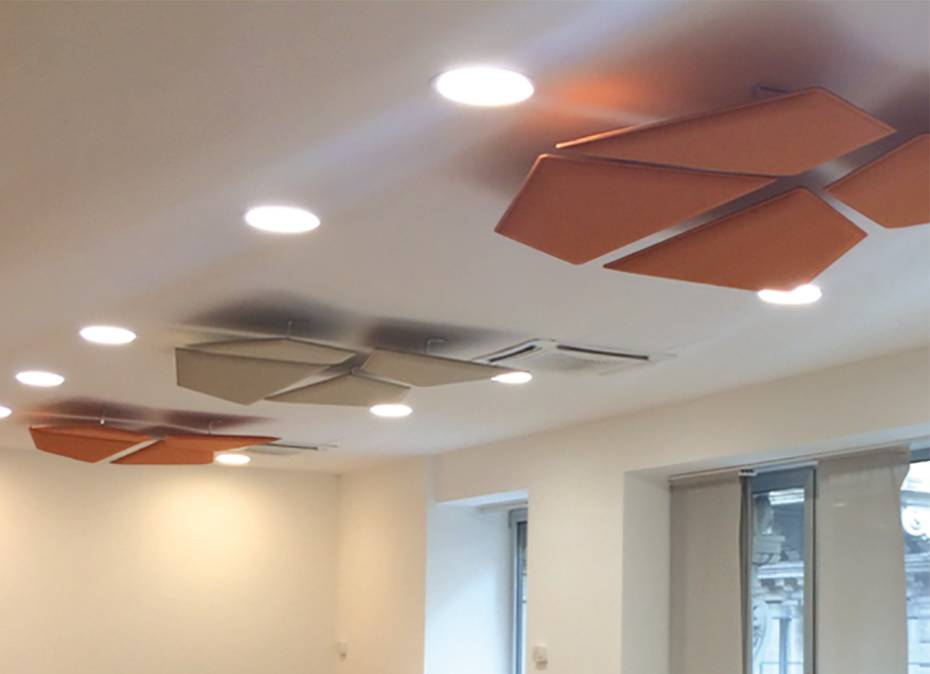 Flap Acoustic Panels Wave Office Ltd