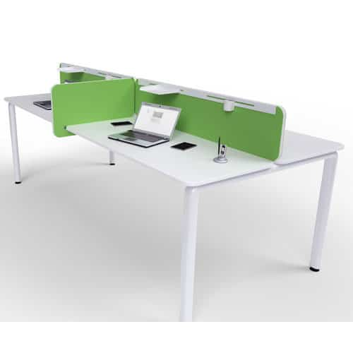 office desk divider. Flite-Green-Fabric-Office-Desk-Divider Office Desk Divider
