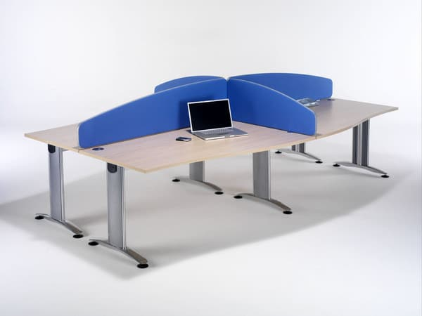 Flite-Blue-Fabric-Curved-Office-Desk-Partitions