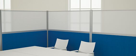 Floor Standing Office Divider