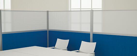 Floor Standing Office Divider