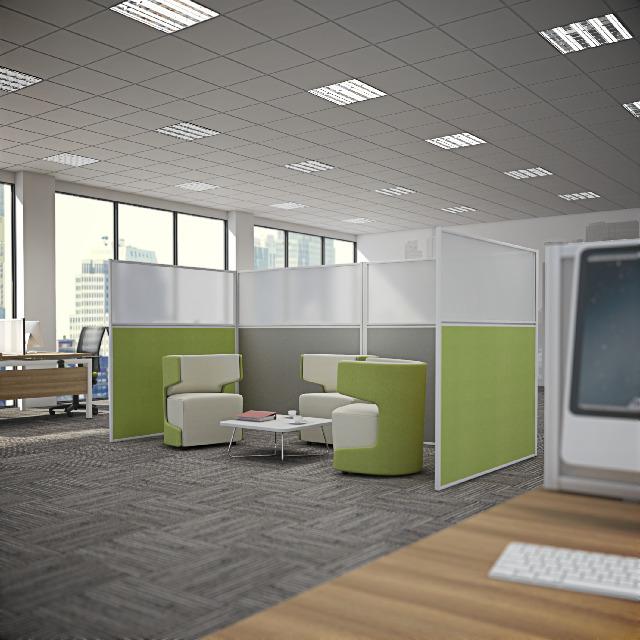 Floor Standing Office Screens
