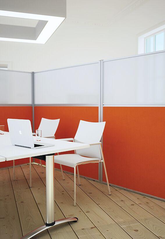 Floor Standing Screen Orange