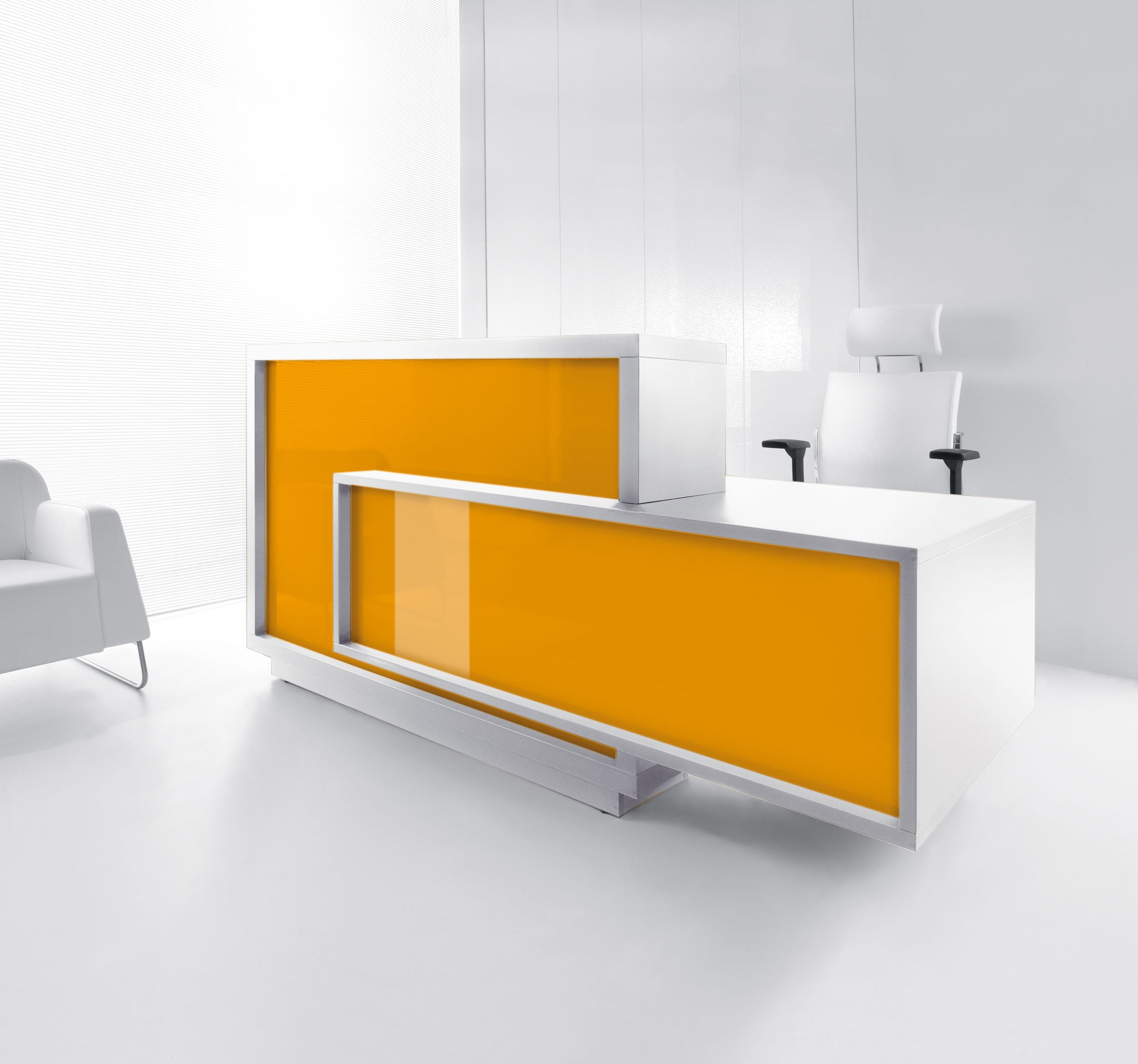 Foro Reception Desk Orange