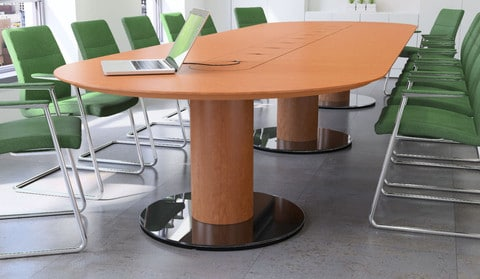 FULCRUM BOARDROOM TABLE Wave Office LTD - Conference room table cable management