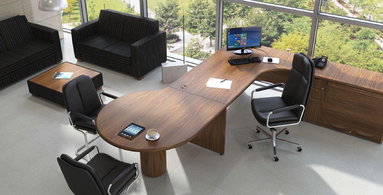 Fulcrum Ce Executive Desk Wave Office Ltd
