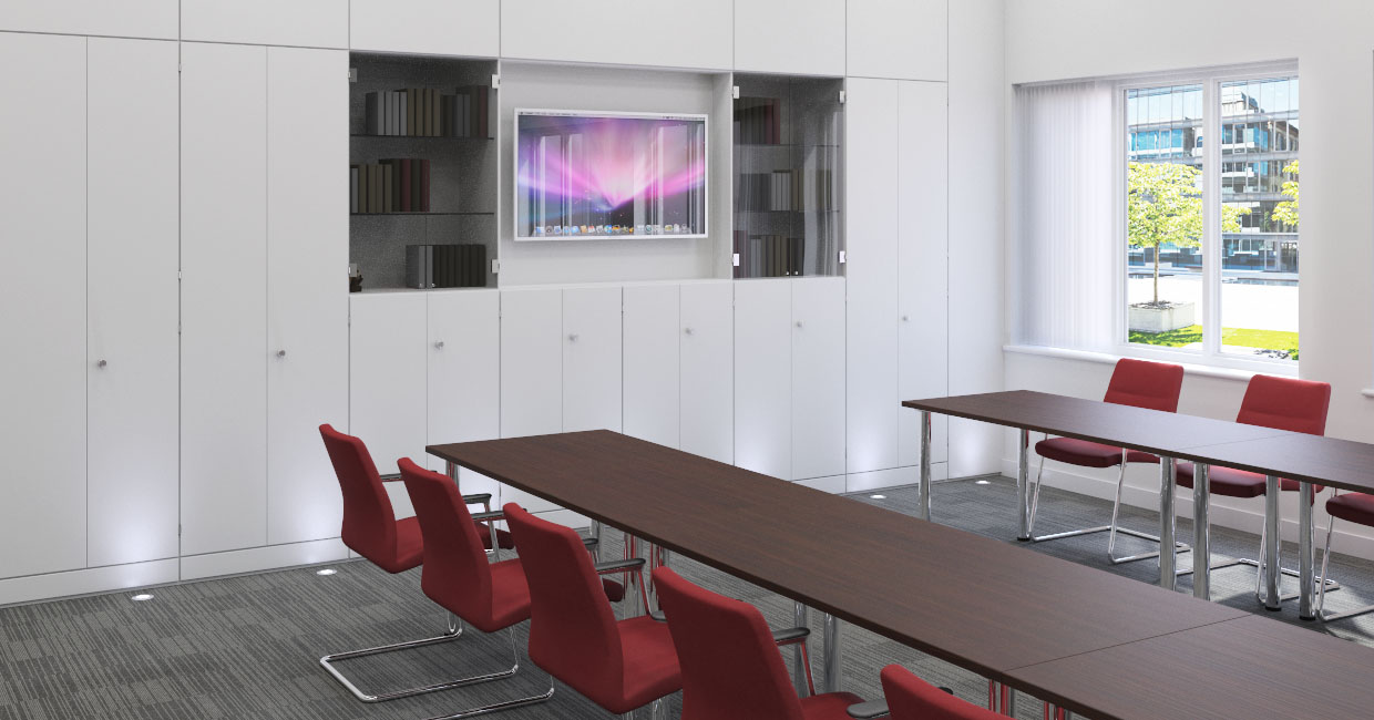 Corporate Meeting Chairs Chrome Frame