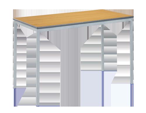 Fully Welded Rectangular Table