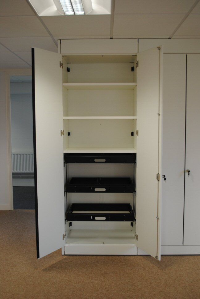Storage Wall Internal Configuration Example