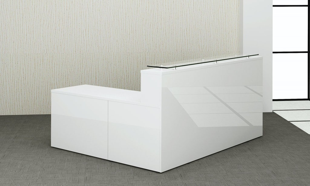 White Gloss with Return Unit