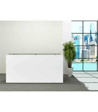 White-Gloss-Rectangular-Reception-Desk-In-Situ