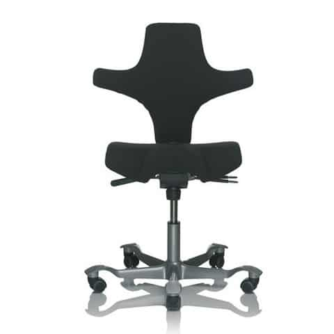 HAG-Capisco-Black-Ergonomic-Office-Chair-Without-Headrest