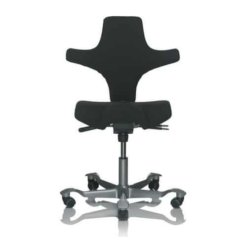 HAG-Capisco-Black-Ergonomic-Office-Chair-Without-Headrest