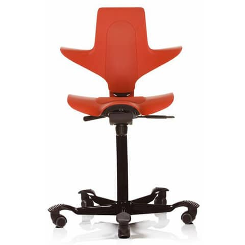 HAG-Capisco-Puls-Ergonomic-Task-Chair-Orange