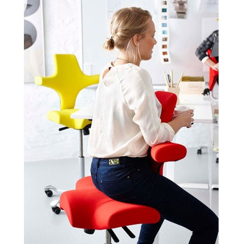 Capisco Ergonomic Task Chair Wave Office