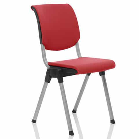 HAG-Conventio-Upholstered-Conference-Chair-Red