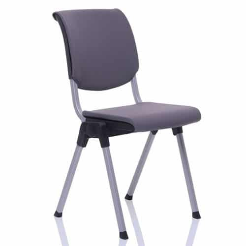 HAG Conventio Upholstered Ergonomic Meeting Chair Purple