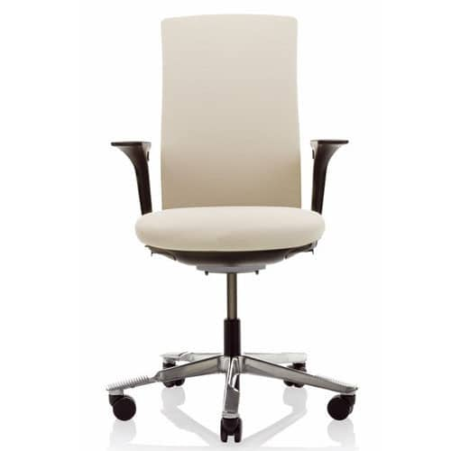 HAG Futu Ergonomic Office Chair With Arms Cream