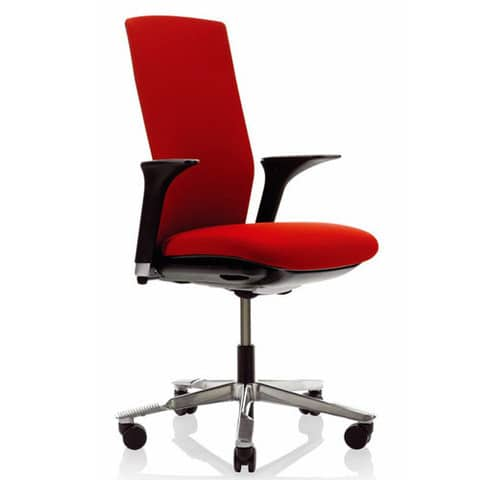 HAG-Futu-Red-Ergonomic-Task-Chair-With-Arms