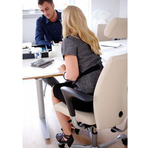 HAG-HO4-Ergonomic-Cream-Upholstered-Task-Chair