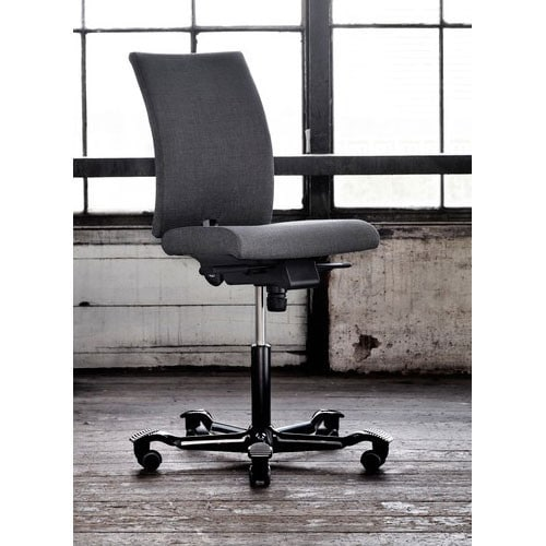 HAG-HO4-Ergonomic-Grey-Office-Chair-Without-Arms