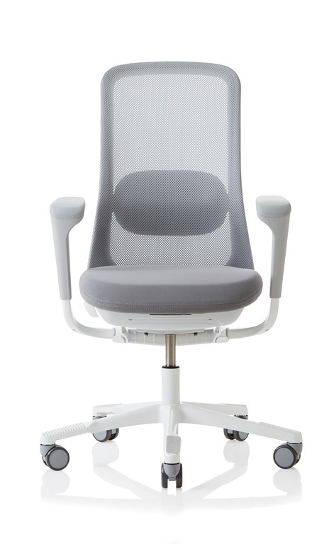 HAG Sofi Mesh Task Chair Grey And White