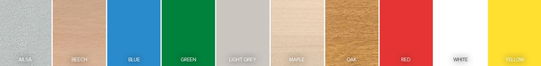 Laminate Colour Options