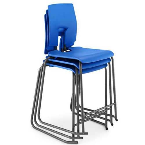 Hille-SE-High-Back-Ergonomic-Stool-with-Foot-Bar-Blue
