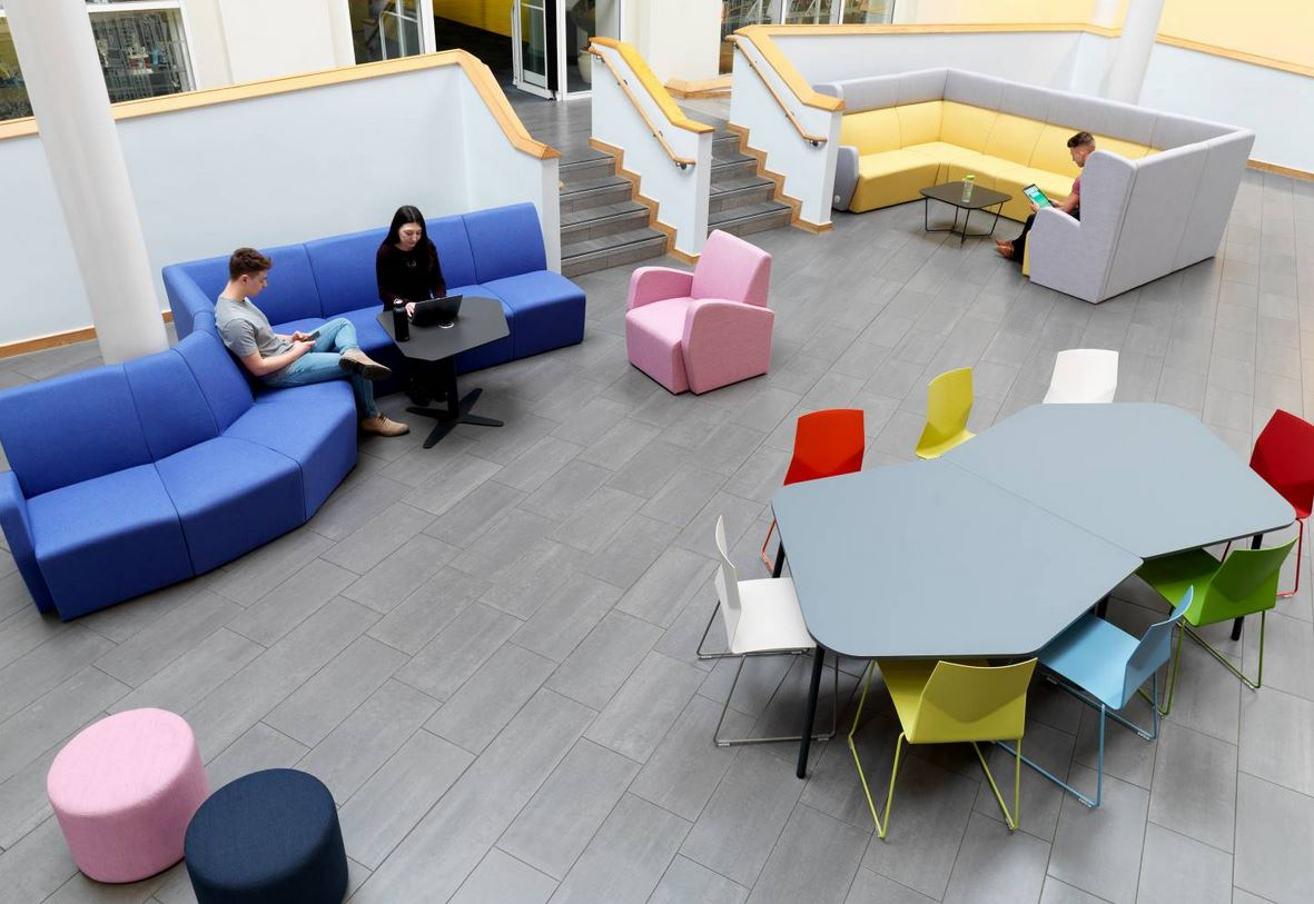 Hilly Modular Seating Atrium Area