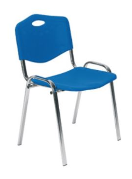 ISO-Anlged-Back-Plastic-Meeting-Chair-With-Angled-Back