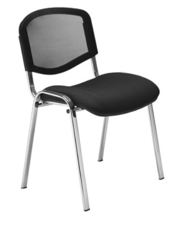 ISO Mesh Angled Back Meeting Chair