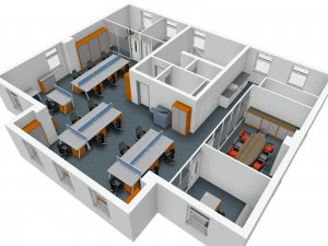 First Floor Office Plans