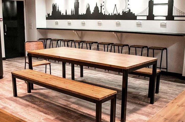 Industrial Canteen Furniture In Situ